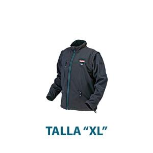 """Chaqueta calefactada Makita DCJ200ZXL 18V Talla """"XL"""""""
