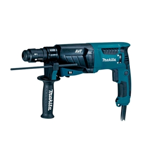 Martillo Makita HR2631FT 800W SDS-PLUS y AVT portabrocas automático